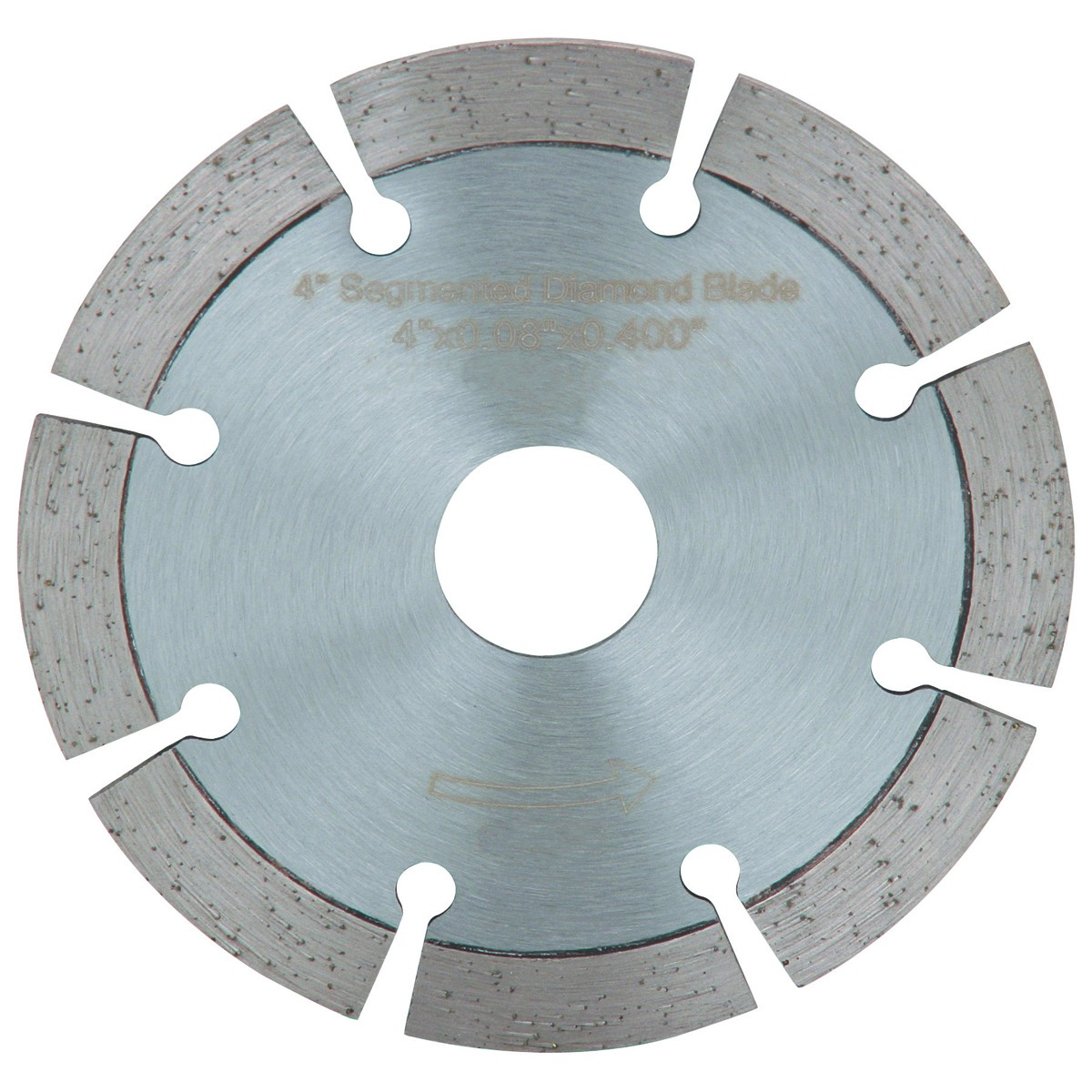 4 in. Segmented Wet or Dry Cut Diamond Blade for Masonry