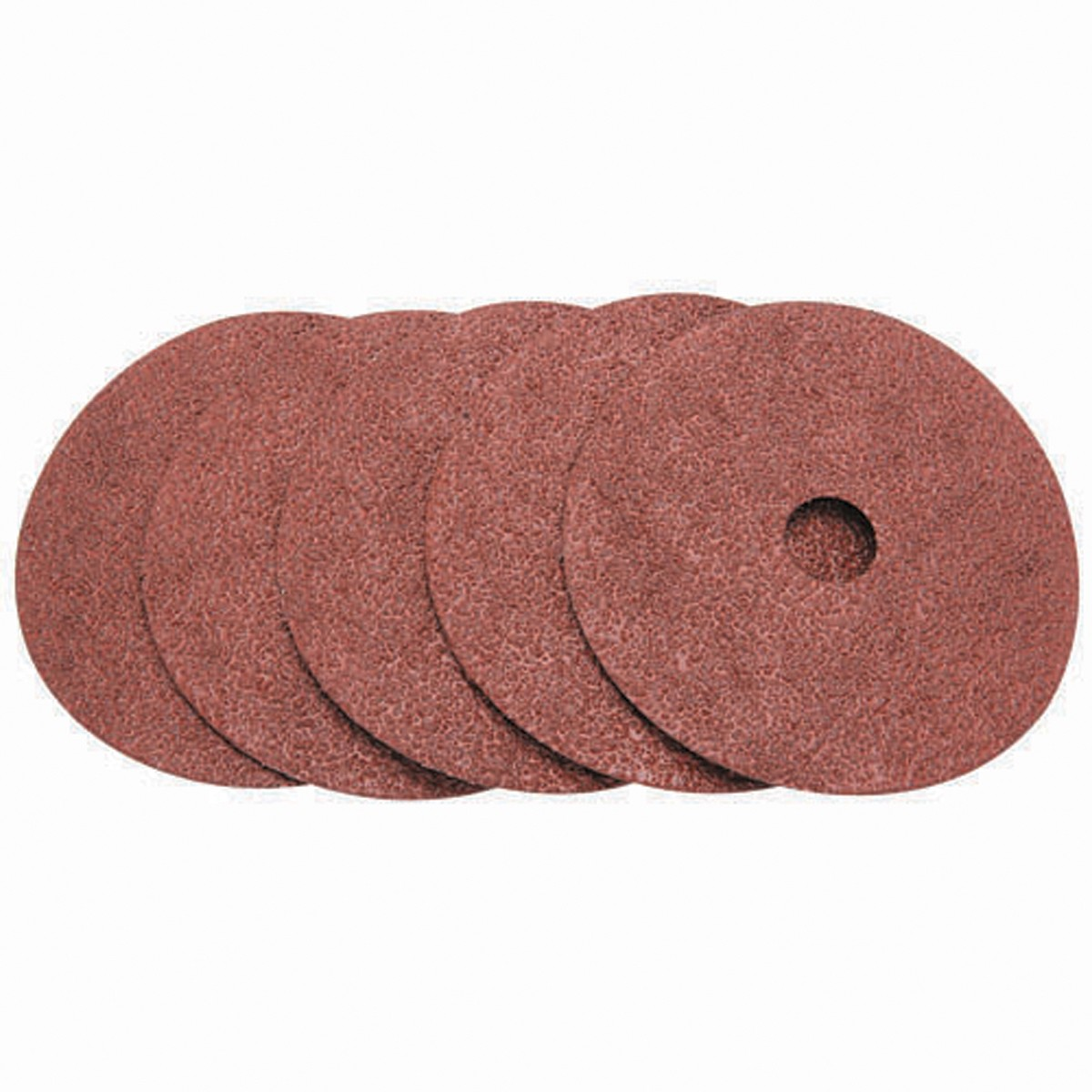 5 in. 24 Grit Resin Fiber Sanding Discs 5 Pc